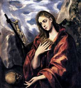 Mary Magdalen in Penitence