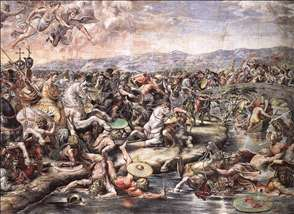 The Battle at Pons Milvius
