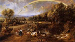 Landscape with a Rainbow
