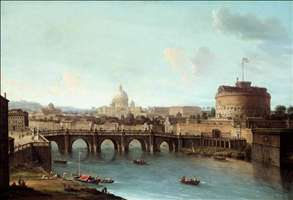 Rome: View of the Tiber