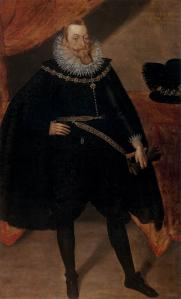 Portrait of Sigismund III Vasa, King of Poland