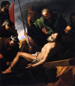 Martyrdom of St Andrew