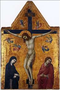 Crucifixion with the Virgin and St John the Evangelist