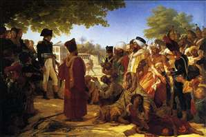Napoleon Pardoning the Rebels at Cairo