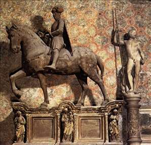 Equestrian monument to Paolo Savelli