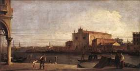 View of San Giovanni dei Battuti at Murano