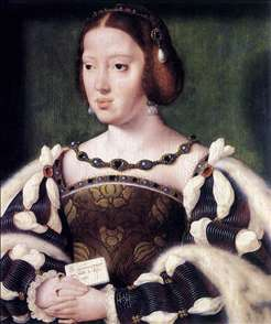 Portrait of Eleonora, Queen of France