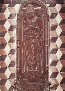 Tombstone of Bishop Giovanni Pecci