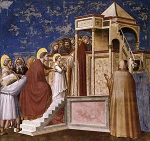 No. 8 Scenes from the Life of the Virgin: 2. Presentation of the Virgin in the Temple