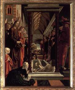 St Wolfgang Altarpiece: Resurrection of Lazar