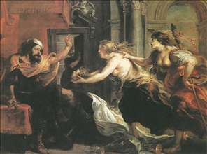 Tereus Confronted with the Head of his Son Itylus
