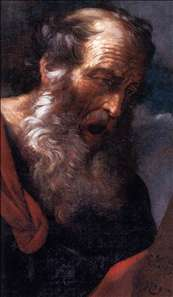 Moses with the Tables of the Law (detail)