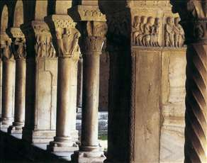 Gallery in the cloister
