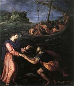 St Peter Walking on the Water