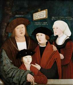 Portrait of the Cuspinian Family