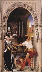 St John Altarpiece (right panel)