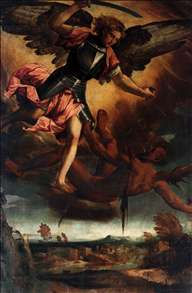 St Michael Vanquishing the Devil