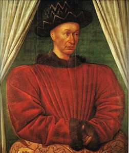 Portrait of Charles VII of France