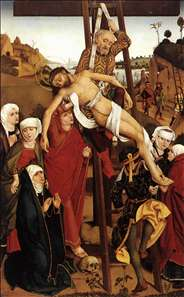 Crucifixion of the Hof Altarpiece