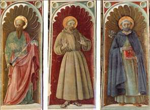 Sts Paul, Francis and Jerome