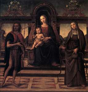 Virgin and Child with Sts John the Baptist and Verdiana