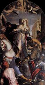 Martyrdom of St Christina
