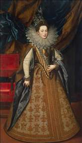 Portrait of Margaret of Savoy, Duchess of Mantua