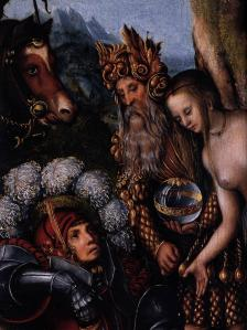 The Judgment of Paris (detail)