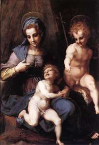 Madonna and Child with the Young St John