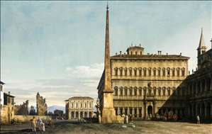 Rome: View of the Piazza di San Giovanni in Laterano