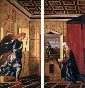 Angel of the Annunciation and Virgin Annunciate