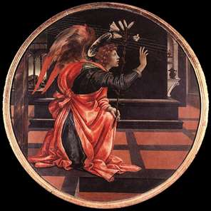 Gabriel from the Annunciation
