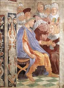 Justinian Presenting the Pandects to Trebonianus