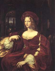 Portrait of Jeanne d'Aragon