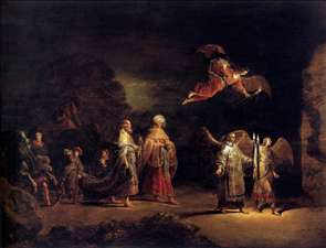 Journey of the Three Magi to Bethlehem