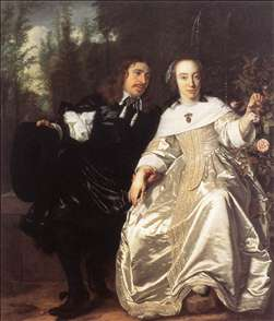 Abraham del Court and Maria de Keersegieter