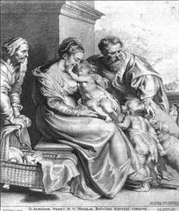 Holy Family with St John and St Elizabeth
