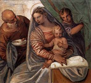 The Holy Family (Madonna della pappa)