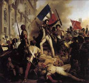 The Battle for the Town Hall, 28 July 1830