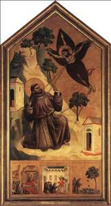Stigmatization of St Francis
