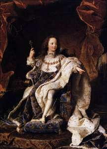 State Portrait of Louis XV