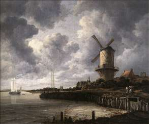 The Windmill at Wijk bij Duurstede