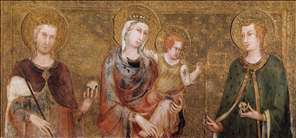 Madonna and Child between St Stephen and St Ladislaus