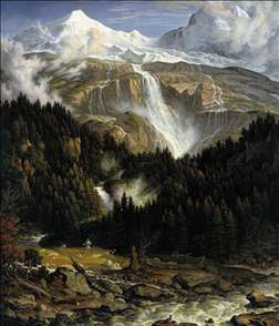The Schmadribach Falls