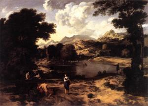 Heroic Landscape with Figures