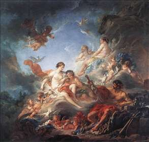 Vulcan Presenting Venus with Arms for Aeneas