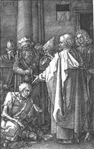 St Peter and St John Healing the Cripple (No. 16)