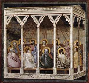 No. 39 Scenes from the Life of Christ: 23. Pentecost