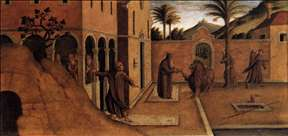 St Jerome Bringing the Lion to the Convent