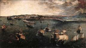 Naval Battle in the Gulf of Naples